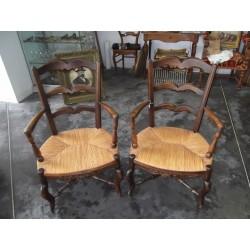 Paire de fauteuils provençal